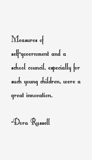 Dora Russell Quotes amp Sayings