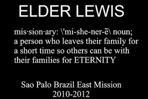 ... this on the internet, wrong mission and missionary... Same message