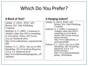 How Do I Set a Proper APA Hanging Indent Using Microsoft Word?