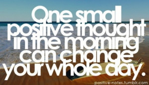 ... , and Enthusiastic to Start the Day; Have a Guaranteed Great Day