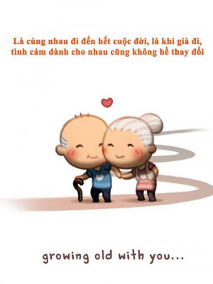 wanna grow old with you :333