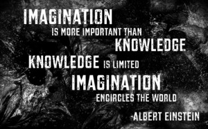 These are some of Albert Einstein Quotes Imagination Better Than ...