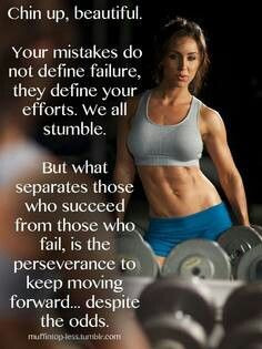 Motivational quote to keep pushing hard and keep working out ...