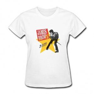 Women's Funny Sayings Brand New James Brown T-shirt