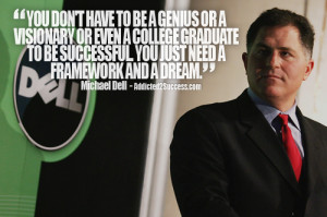 Michael Dell Entrepreneur Picture Quote For Success