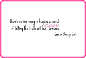 Simple Life Freak: Quote for the Day - Gossip Girl