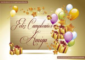 imagenes de feliz cumpleaños para una amiga para facebook-feliz ...