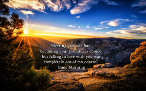 Home » Quotes » Good Morning Quotes For Him Wallpaper