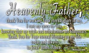 Prayer Quote – Trials & Tribulations