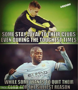 Yaya Toure wants to leave Man City for not being appreciated