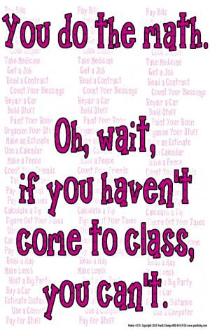 b84) Poster #175- Math Classroom Motivational, Inspirational Poster ...