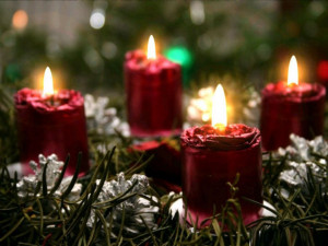 Christmas Candles Wallpapers