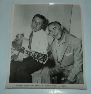 Details about GEORGE GOBEL and ORCHESTRA LEADER RALPH MARTERIE B/W ...