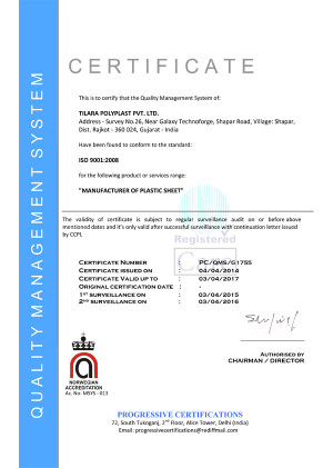 ISO 9001:2000 Certified Company