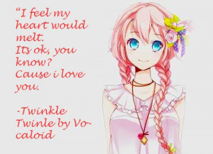 girl with pink hair edit + quote
