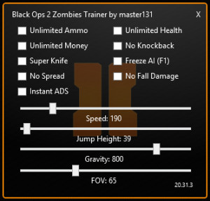 zombie trainer black ops 2 zombie trainer by master131