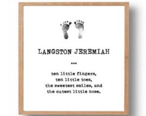 Baby Footprints Clip Art