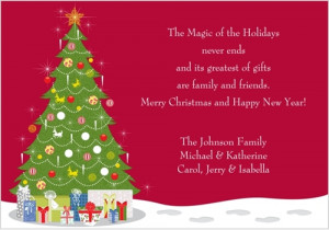 Christmas Card Sayings that would Definitely Touch the Heart