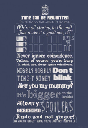 Doctor Who Tardis Quotes by Gizou1994