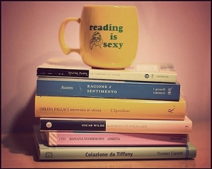 books, cute, humourous, mug, picture, quotes, reading, sexy, smile ...