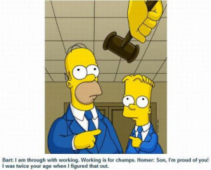 , Parents Rap, The Simpsons, Bart Simpsons Quotes 10, Work Quotes ...