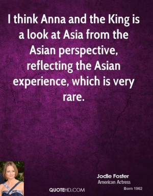 Jodie Foster Experience Quotes