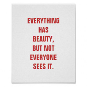 motivational_sayings_famous_confucius_quotes_red_poster ...