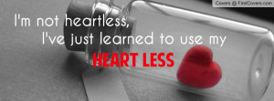 not heartless Profile Facebook Covers