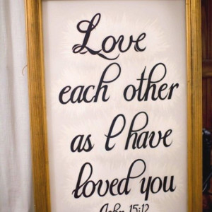 Bible quotes for wedding! | Sign-Say-Pic