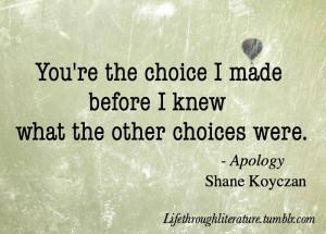 Shane Koyczan Apology