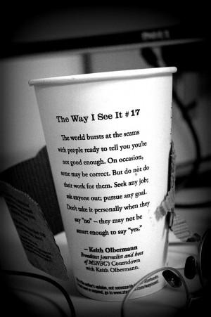 Starbucks inspiration...