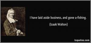 More Izaak Walton Quotes