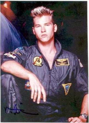 Quotes Iceman Top Gun ~ Movie Quote - Val Kilmer as Lt. Tom