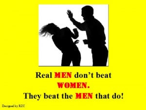 ... Men don't beat women. They beat the men that do - Famous Women Quotes
