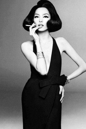 Fei Fei Sun by Steven MeiselItalian Vogue, January 2013, Steven Meisel ...