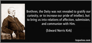 More Edward Norris Kirk Quotes