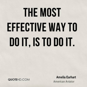 Amelia Earhart Quotes