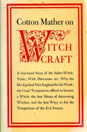 Cotton Mather on Witchcraft (Occult)