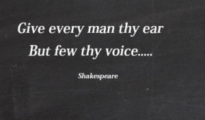 Best And Heart Touching Shakespeare Quotes
