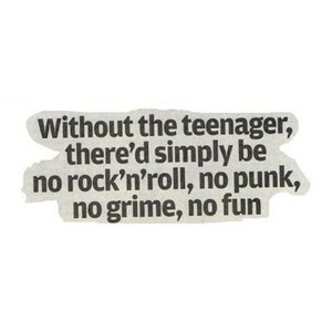fun, grime, punk, quote, rock and roll, teenager - inspiring picture ...