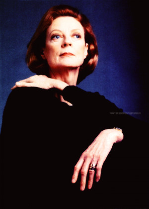 My top ten favorite Maggie Smith pictures, as requested by Anon -5/10