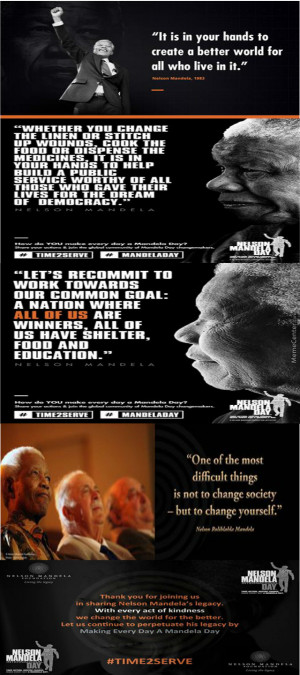 Famous Quotes: Nelson Mandela