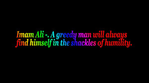 Imam Ali quote by Sinistersal