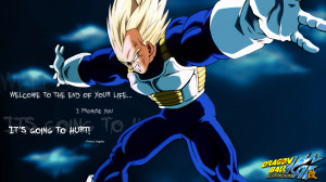 Vegeta Quotes Wallpaper 1850x1041 Vegeta, Quotes, Dragon, Ball, Z
