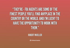 FBI Agents Quotes