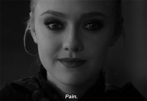 beauty beautiful pain actress Twilight breaking dawn dakota fanning ...