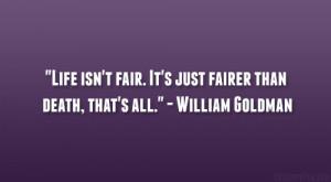 William Goldman Quote