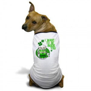 Funny Irish Beer Quote Dog T-Shirt