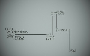 minimalistic text wall quotes humanity typography lines travel stripes ...