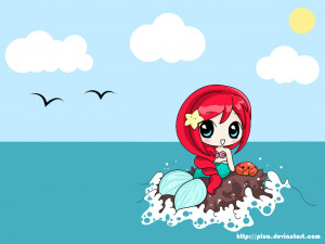 Displaying 17> Images For - Cute Little Mermaid Quotes...